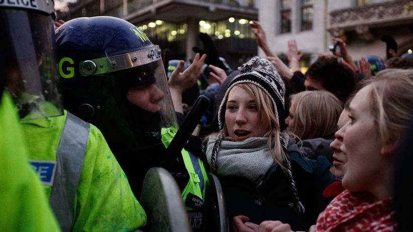 Studenten Protest London