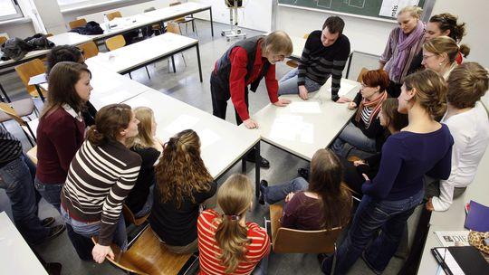 Seminar an der Universität Mainz