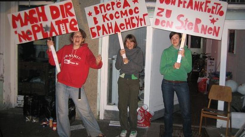 """Bewohnerinnen des """"Verbuendungshauses"""" in Frankfurt (Oder)"""