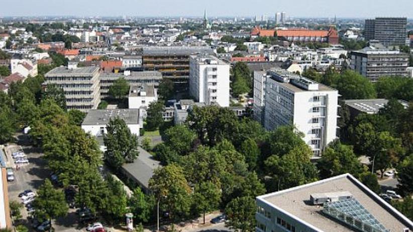 Der naturwissenschaftliche Campus der Uni Hamburg