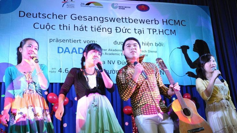 Vietnamesische Studenten: Deutschlernen mit Matthias Reim