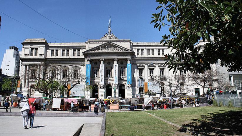 Gebäude der Universität Buenos Aires
