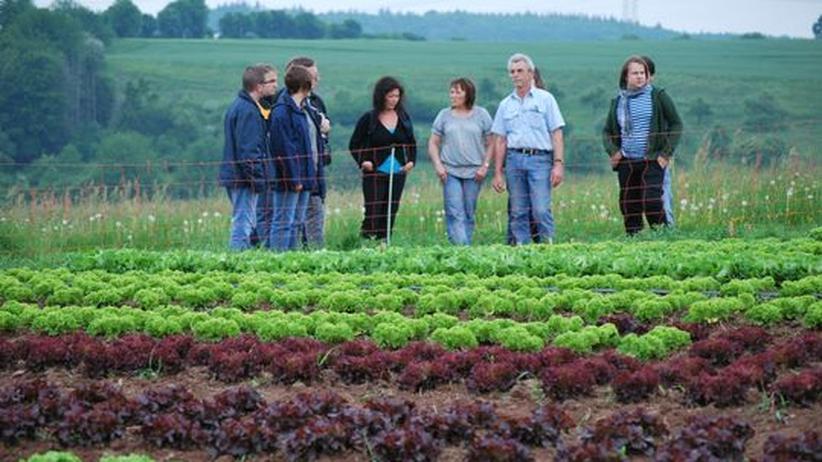 Ernährung: Studenten der Uni Trier zu Gast beim Salat-Lieferanten der Mensa