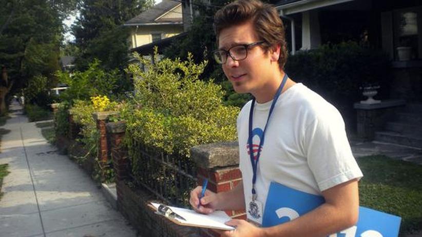 Prima Praktika: Juri Schnöller absolvierte ein Praktikum in Obamas Wahlkampfteam
