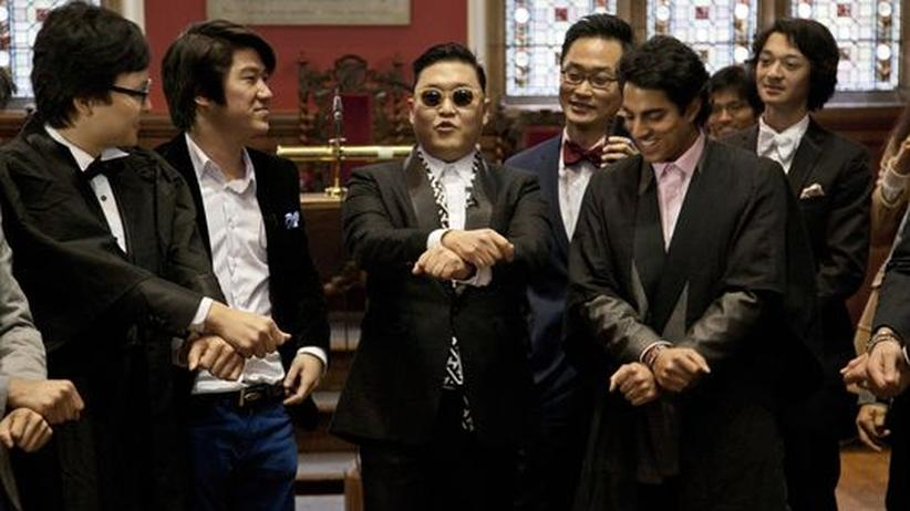 YouTube-Star Psy: Der koreanische Rapper Psy zu Gast in Oxford