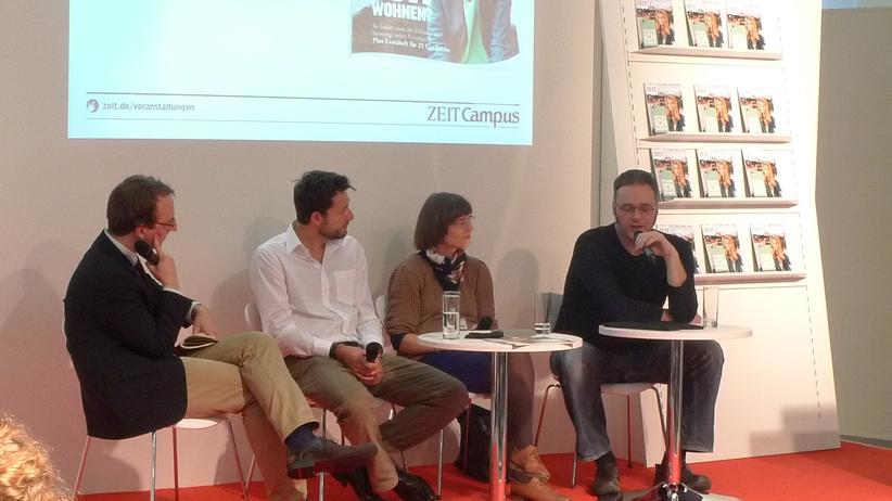 Geisteswissenschaftler: Der ZEIT CAMPUS Dialog auf der Frankfurter Buchmesse