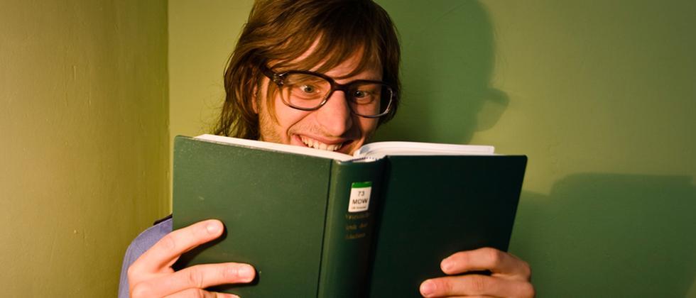 Buch Lesen Student Studium Lernen Freude