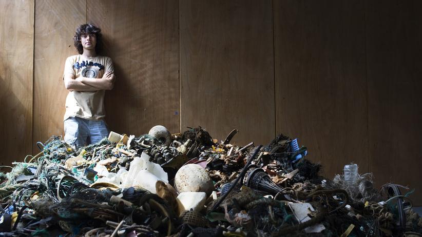 Crowdfunding: Der Niederländer Boyan Slat hat sein Studium unterbrochen, um die Meere zu retten.