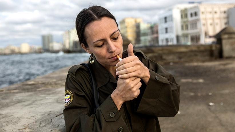 Tanja Nijmeijer: Seit drei Jahren ist sie als Delegierte der Farc in Havanna.