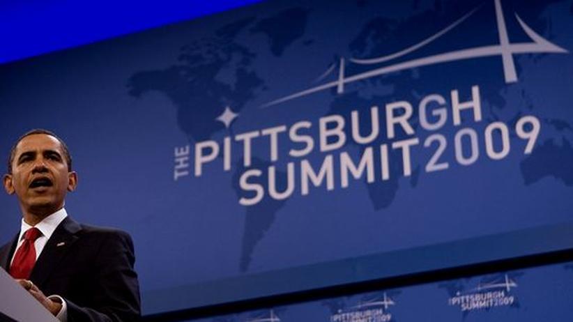 Gipfel in Pittsburgh: Obama lobt Gemeinschaft der 20