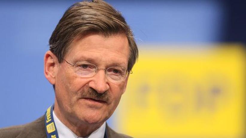 Steuerentlastung: Hermann Otto Solms, der Finanzexperte der FDP