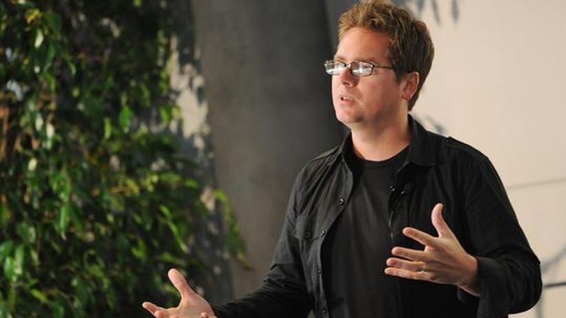Twitter-Mitbegründer Biz Stone spricht während der Twitter Conference LA in Los Angeles am 22. September 2009