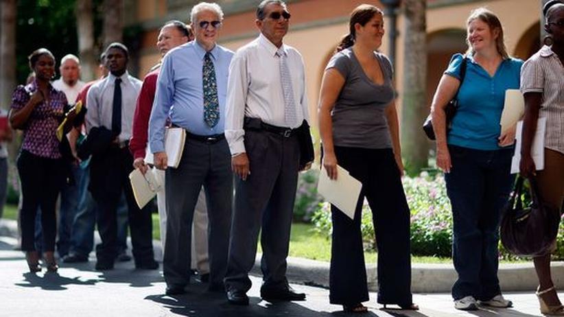 Finanzkrise: Arbeitslosigkeit in den USA wächst stärker als erwartet