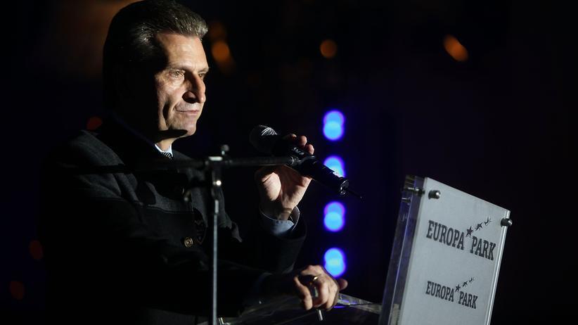 EU-Kommissar: Oettinger wird gegen die Energiekonzerne nicht bestehen
