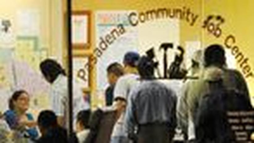 Rekordarbeitslosigkeit: Arbeitslosenquote steigt in den USA auf über 10 Prozent