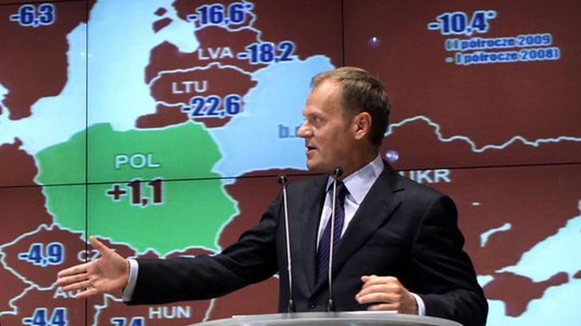 Der polnische Regierungschef Donald Tusk