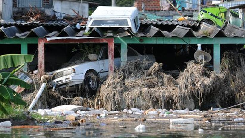 Hurrikanschäden in San Salvador
