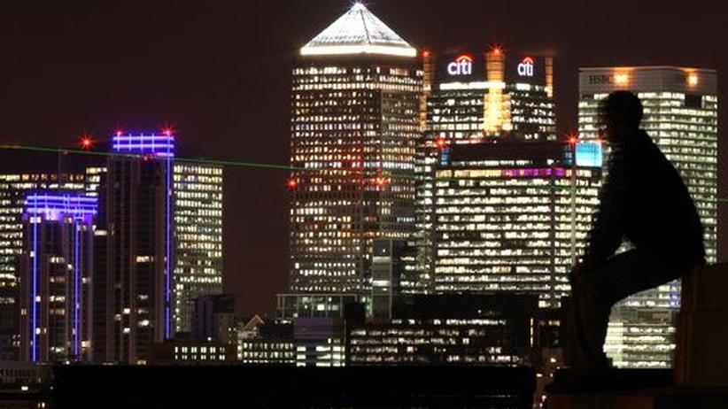 Wolkenkratzer in London