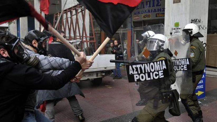 Griechenland: Wut unter der Akropolis