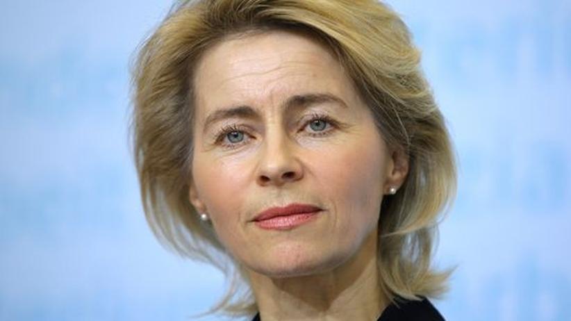 Arbeitsministerin von der Leyen (CDU)