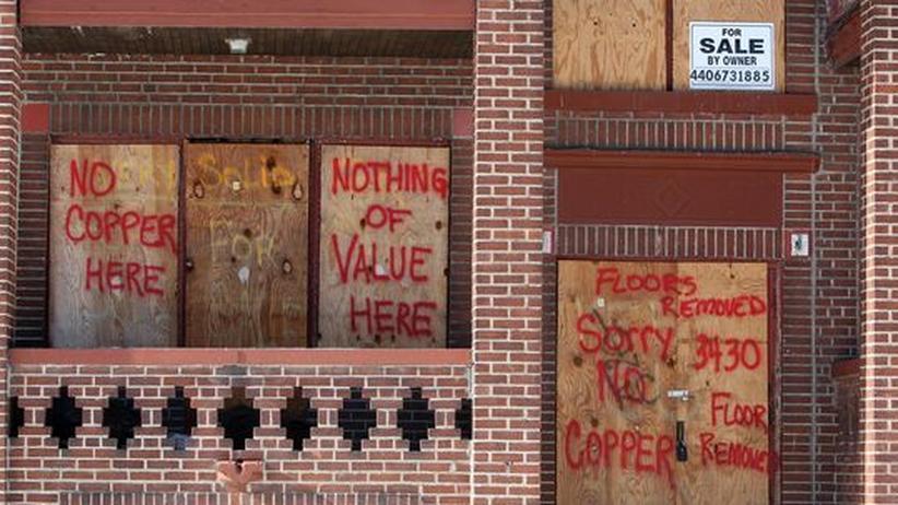 Die Subprime-Krise in den USA löste die weltweite Wirtschaftskrise aus