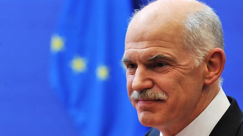 Griechenlands Schuldenkrise: Griechenlands Premierminister Giorgios Papandreou