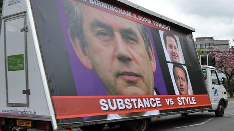 Wahlplakat der Labour-Partei