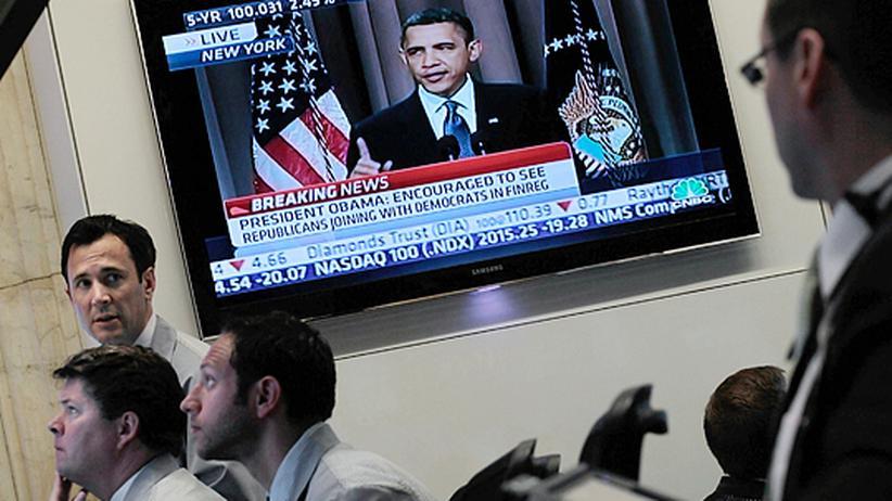 Regulierung der Finanzmärkte: Obama warnt vor neuer Krise