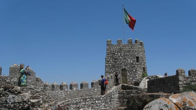 Ein Unesco-Weltkulturerbe: Castelo dos Mouros in Sintra/Portugal