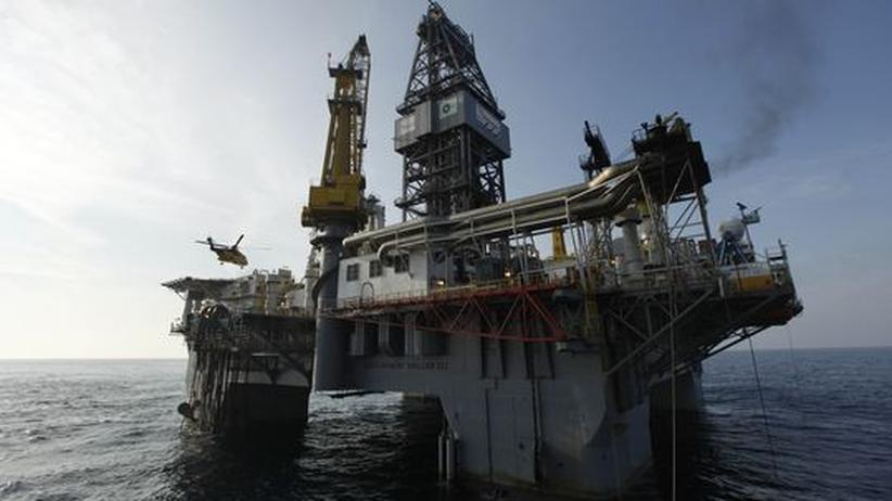 Ölpest: Die Ölplattform Development Driller III im Golf von Mexiko