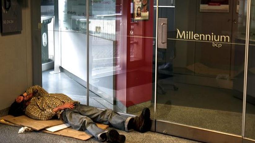 Krise Portugal: Schuldenkrise kann sich aus auf Banken ausweiten