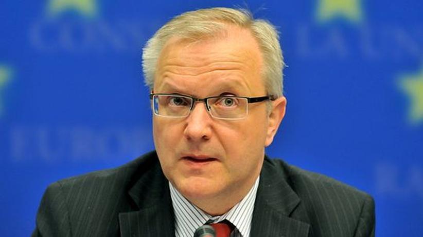 """""""Die Fiskalpolitik muss vorab koordiniert werden"""": Olli Rehn, EU-Kommissar für Wirtschaft und Währung"""