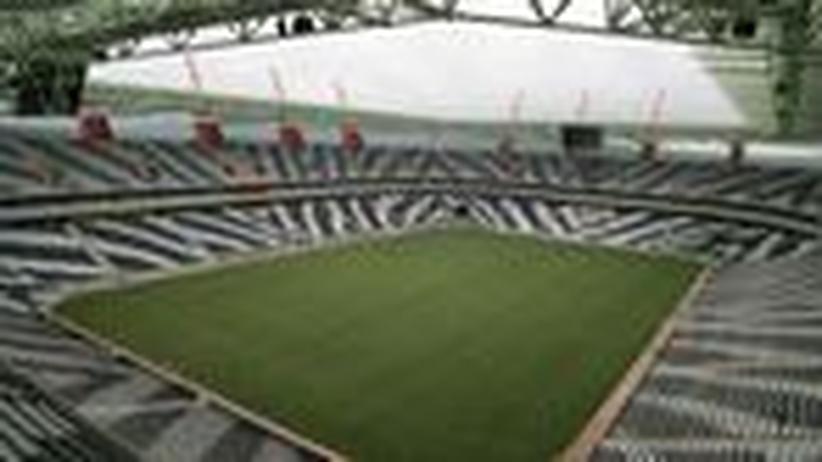 Südafrika: Ein Stadion, mit Blut gebaut