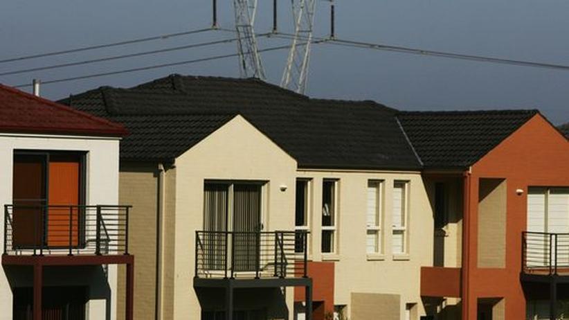 Immobilienmarkt: Wackelig wie ein Kartenhaus