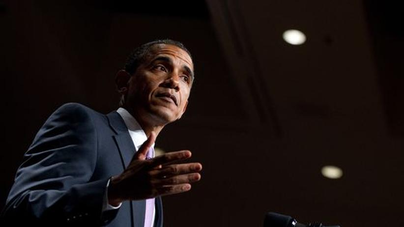 Lobbyisten: Der US-Präsident bei einer Rede vor wenigen Tagen in Washington
