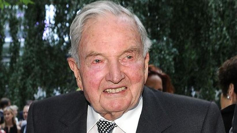 """David Rockefeller: """"Die Banker haben ihre Lektion gelernt"""""""