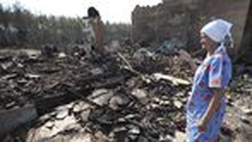Waldbrände: Flammen zehren an der russischen Agrarmacht