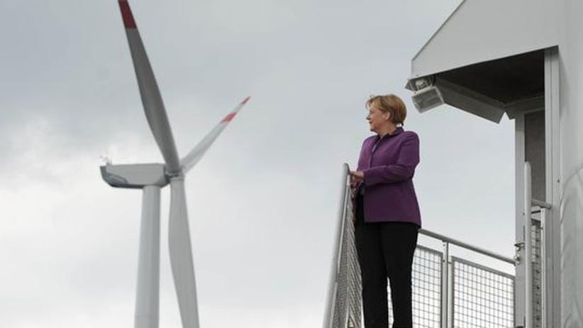 Sommerreise: Merkel gibt die Energiekanzlerin