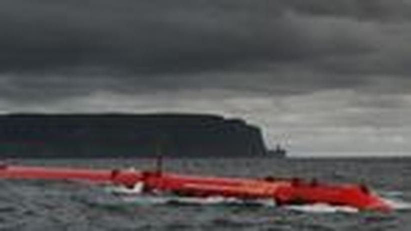 Meeres-Energie: Eine Seeschlange, die Energie erzeugt