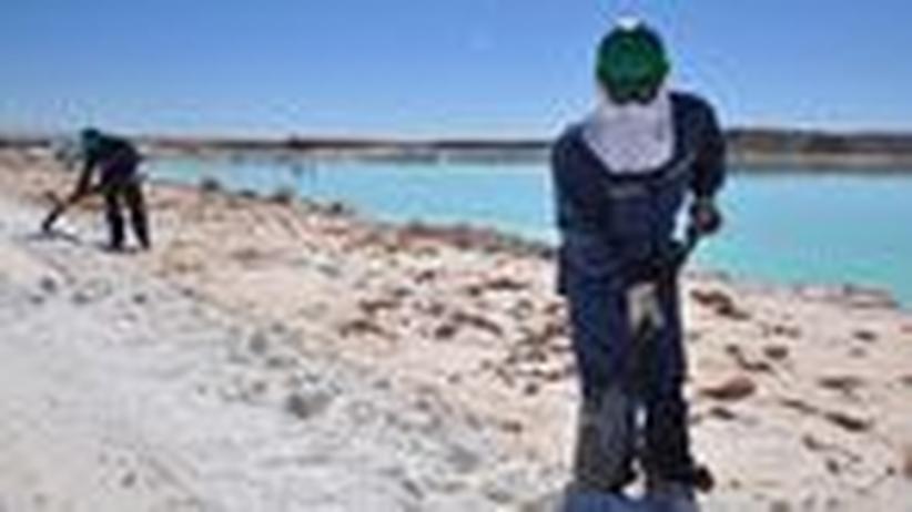 Energie: Boliviens salzige Träume