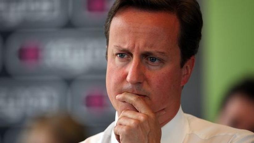 Der britische Premier David Cameron