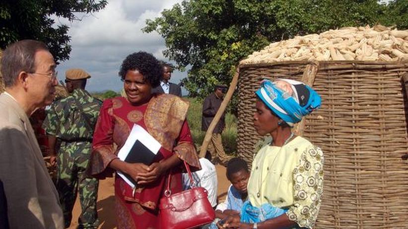 Entwicklungshilfe: Korn bis unters Dach des Speichers