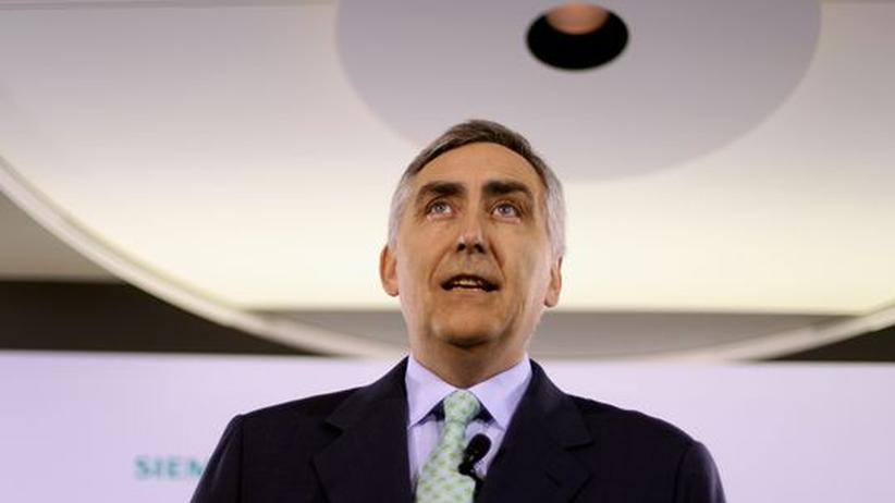 Peter Löscher steht seit 2007 an der Spitze der Siemens AG. Der Mischkonzern ist in 190 Ländern aktiv und beschäftigt mehr als 400.000 Mitarbeiter