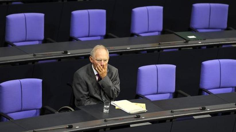 Haushaltspolitik: Wie Schäuble sein Sparpaket sabotiert