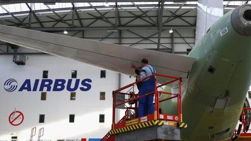 Auch im Airbus-Werk in Hamburg geht nichts ohne Leiharbeiter