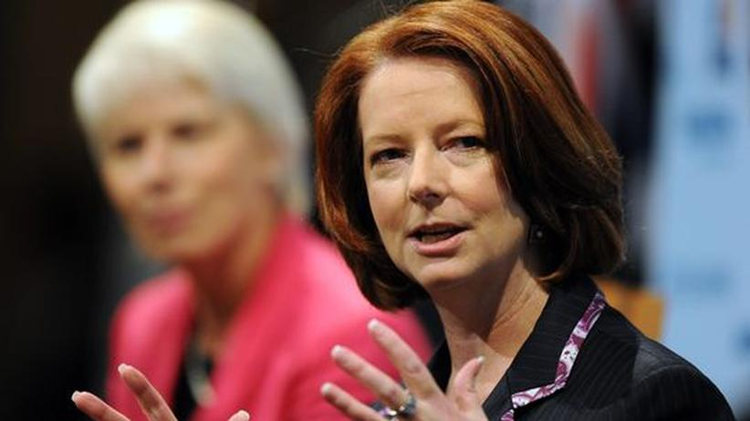 Australien: Australiens Premierministerin Julia Gillard