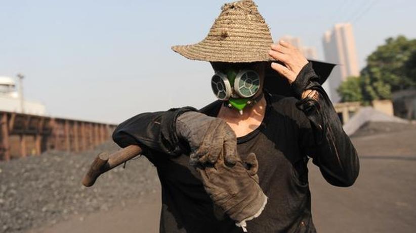 Klimaschutz: Minenarbeiter in China: Innerhalb der nächsten Dekade dürfte das Land das Niveau europäischer Pro-Kopf-Emissionen erreicht haben