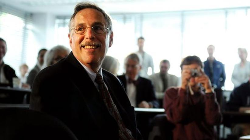 Ökonomie: Einer der drei Preisträger: der amerikanische Ökonom Peter A. Diamond