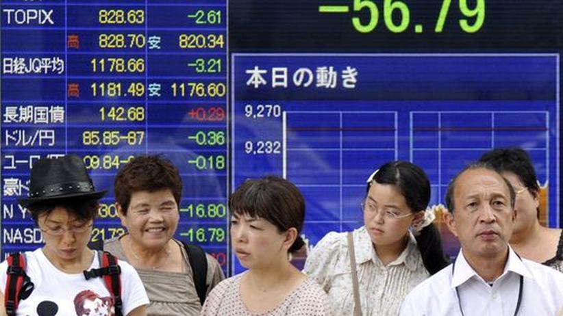 Japan: Tokyo pumpt erneut Milliarden in den Markt