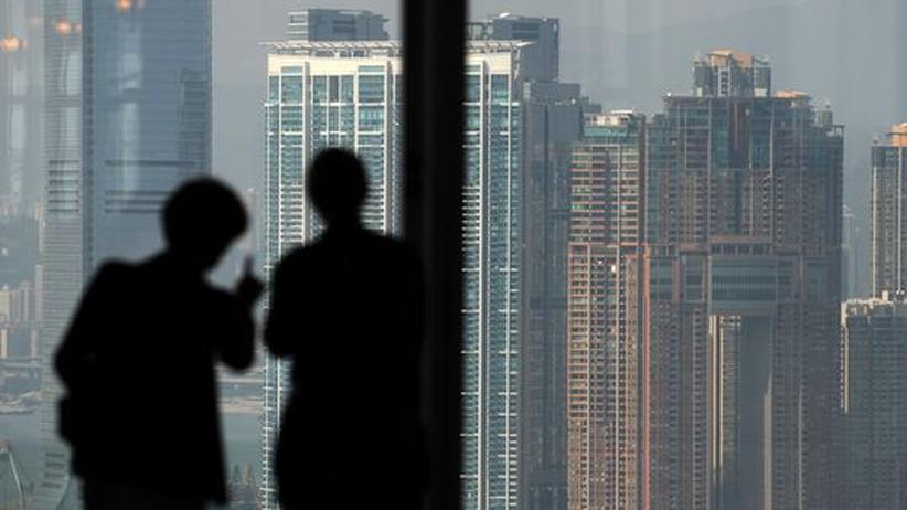 Geldschwemme: Die Skyline von Hongkong